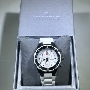 Michele Tahitian Jelly Watch White Water Resistant